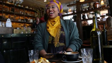 Yassmin Abdel-Magied is 'the most talked about person in Australia over the past week'.