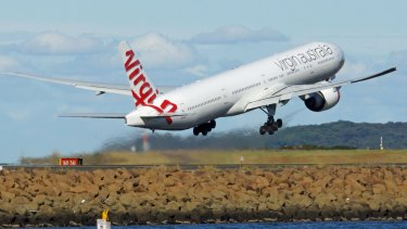 The infectious woman travelled to Australia from Bali on a Virgin Australia flight.