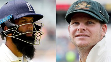 Highs and lows: Australian skipper Steve Smith was named man of the series while England all-rounder Mooen Ali is fighting for his Test place.