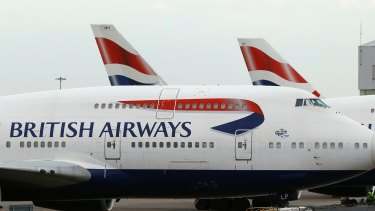 British Airways had to cancel flights over a holiday weekend because of computer problems.
