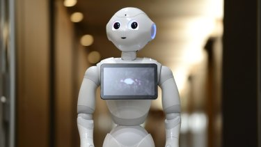 Billionaire Masayoshi Son will start selling his humanoid robots in the US next year.