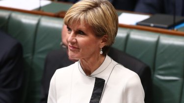 """Muslim families are Australia's """"front line of defence"""" against radicalised young people, Foreign Minister Julie Bishop says"""