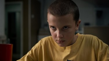 Stranger Things Millie Bobbie Brown plays Eleven in Netflix's hit drama Stranger Things.