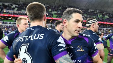 Storm brewing: British officials are not confident the Storm will want to travel to Britain for the World Club Challenge.