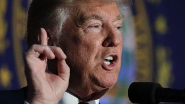 Donald Trump defended his Twitter attack on Alicia Machado.