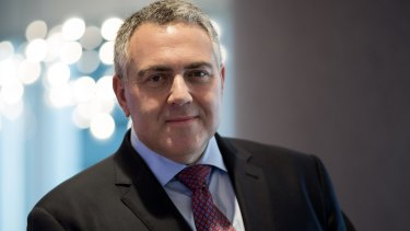 Treasurer Joe Hockey.