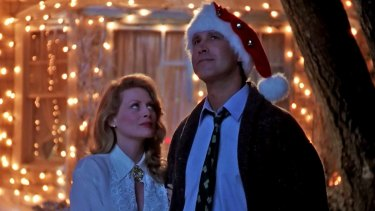Beverly D'Angelo and Chevy Chase in
