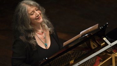 Martha Argerich is on her way to Sydney.