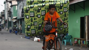 Indonesia: a nation on the move.