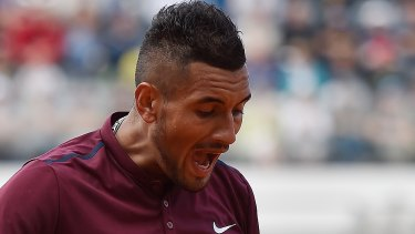 Please explain: The AOC has issued Nick Kyrgios with a long list of issues to address.