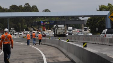 """Federal grants to state infrastructure like the WestConnex freeway in NSW will be treated as """"good debt""""."""
