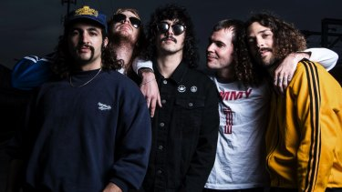 """Sticky Fingers' Paddy Cornwall says: """"We don't fight other people, just each other, in the way that brothers do."""""""
