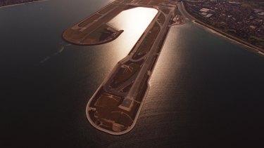 Sydney Airport's third runway.