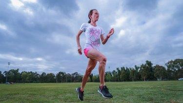 Olympian, career-woman, mum and half marathon runner Lisa Weightman