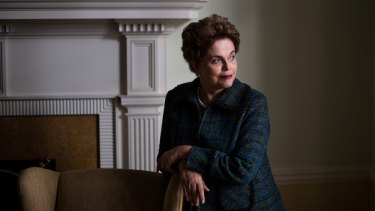 Dilma Rousseff, the impeached former president of Brazil, contrasted her ouster with her struggle against a military dictatorship in the 1970s.