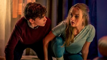 Levi Miller and Olivia De Jonge star  as a couple of all-American kids in Better Watch Out.