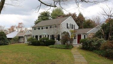 Maurice Sendak's estate in Ridgefield, Connecticut.