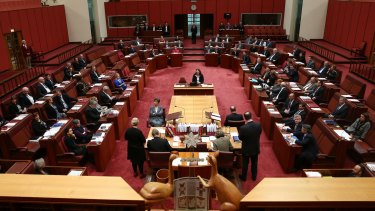 The Senate vote to repeal the carbon tax on Thursday.