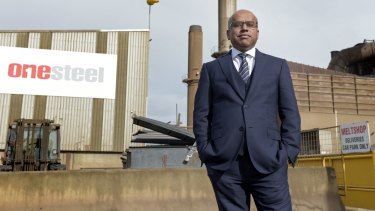 Sanjeev Gupta, head of LIberty House, which took ownership of Arrium on September 1, says it's a ''crying shame'' that energy prices are so high in Australia.
