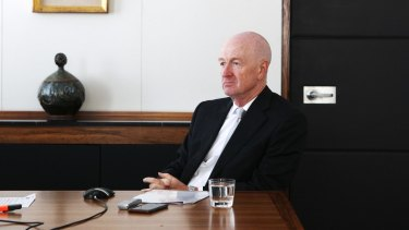 Glenn Stevens,governor of the Reserve Bank of Australia, sat down with the Australian Financial Review for his annual interview.