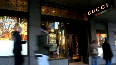 Gucci and other luxury retailers have been targeting Chinese shoppers for several years.