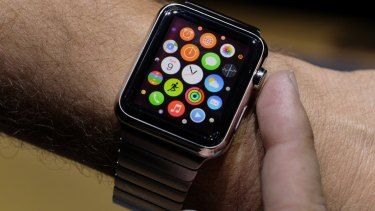 Watch wrists: The Apple watch is one of many so-called smart timepieces trying to attract consumer interest.