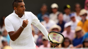 Disappointed: Nick Kyrgios wants to play alongside Bernard Tomic in the Davis Cup.