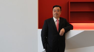 Property billionaire and political donor Chau Chak Wing.