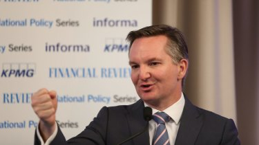 Chris Bowen said Labor was prepared to negotiate on cutting the company tax rate.