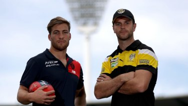 The clubs would hope Melbourne co-captain Jack Viney and Richmond skipper Trent Cotchin have the chance to play on Anzac Day-eve for many years to come.