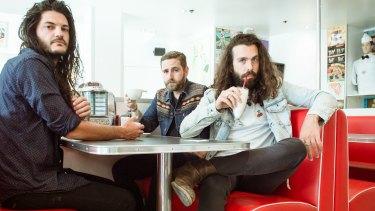 Melbourne garage rockers turned disco floor-fillers, Kingswood.