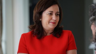 Annastacia Palaszczuk's Labor government has lost ground to the LNP in a new poll.