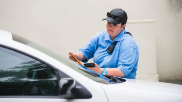 Traffic infringements account for the majority of notices issued.