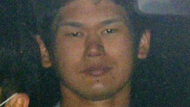 Tomohiro Iwazaki, the suspect arrested for stabbing the Japanese pop star.