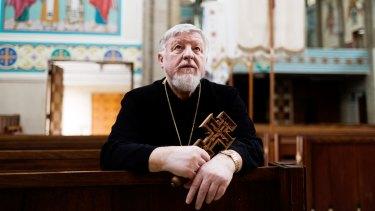 Bishop Peter Stasiuk of the Eparchy for Ukrainian Catholics.