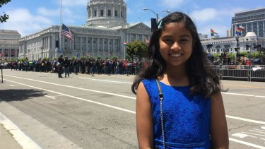 Anvitha in San Francisco this week.