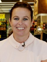 Claire Peters, new MD for Woolworths supermarkets.