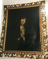 One of the paintings stolen from a house in St Johns Park in Sydney's south-west.