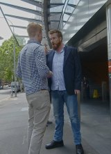 Russel Howarth tries to make a citizen's arrest of an uberX driver at The Star.