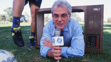 Broadcaster Les Murray put football on the map.