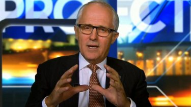 Malcolm Turnbull had some advice for Leigh Sales and other journalists on interviewing style.