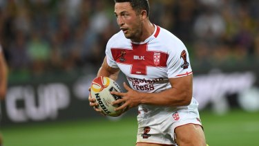 Sam Burgess may return from injury for England sooner than first thought.