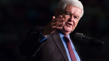 Newt Gingrich has pushed the theory of the shy Trump voter.