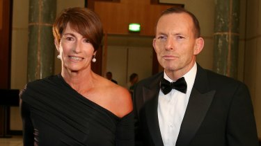 Margie Abbott and Prime Minister Tony Abbott have been hitting the Sydney cocktail circuit.