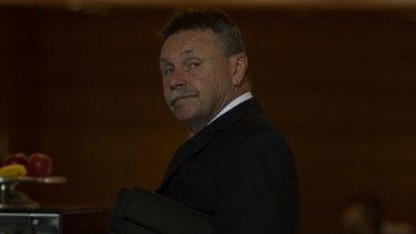 Former Parramatta chairman Steve Sharp.