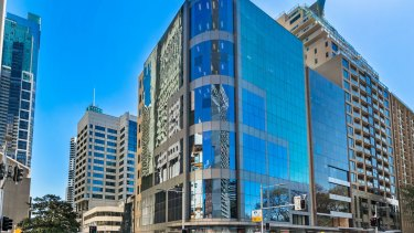 A freehold corner office tower opposite Sydney's Hyde Park at 299 Elizabeth Street is on the market.