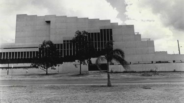 The Queensland Cultural Centre in the 1980s.