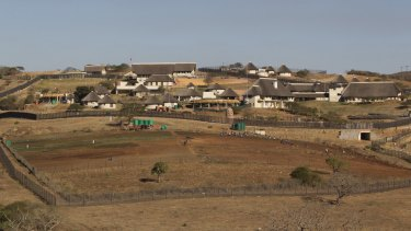 A general view of the Nkandla home of South African President Jacob Zuma in 2012.