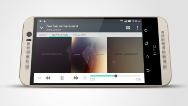 The HTC One M9's dual speakers are a cut above the rest.