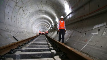 The new line from Sydney's CBD to Parramatta will be mostly underground.
